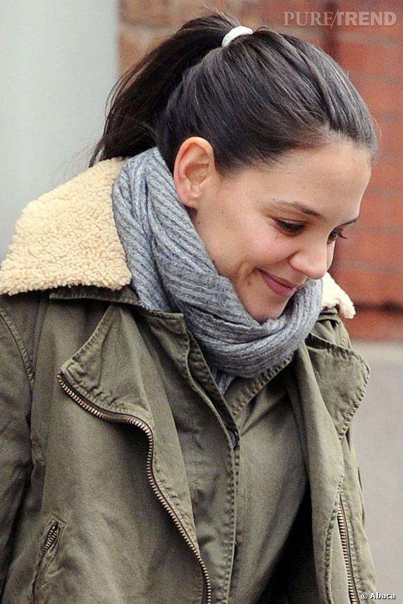 Les stars belles sans maquillage : Katie Holmes