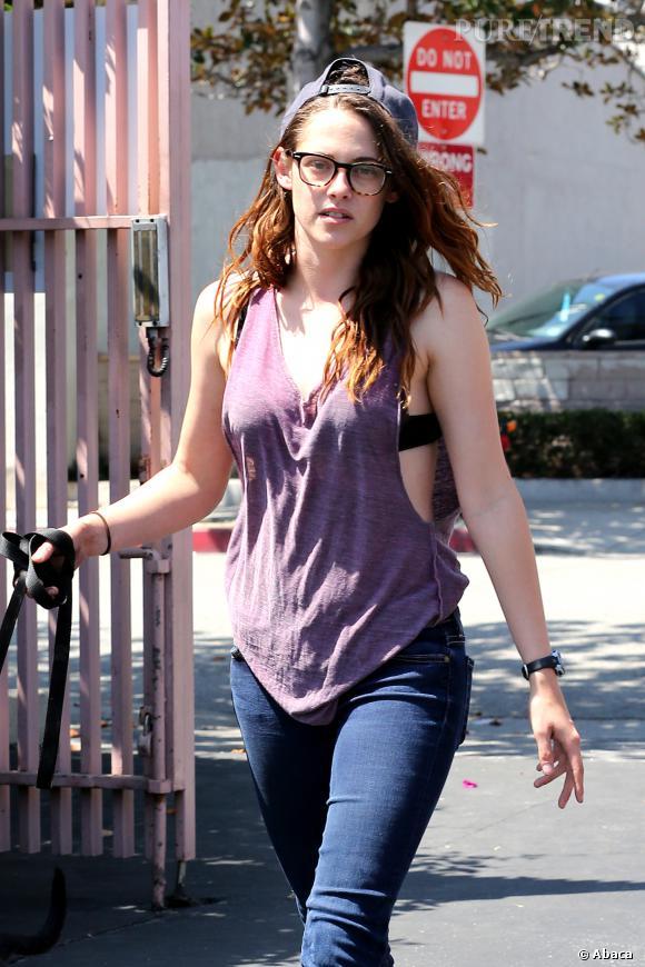 Les stars belles sans maquillage : Kristen Stewart