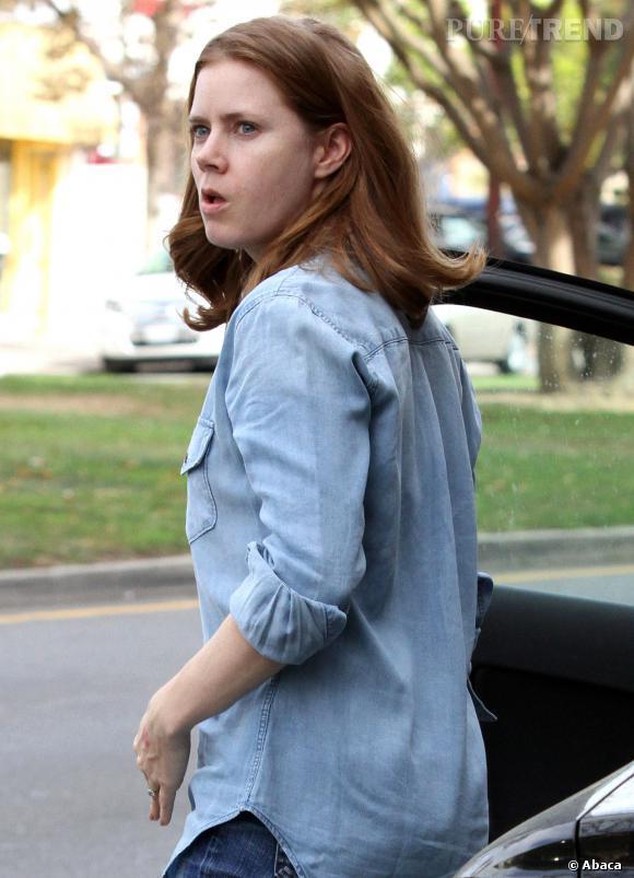Les stars belles sans maquillage : Amy Adams