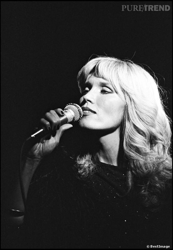 Amanda Lear en 1979.