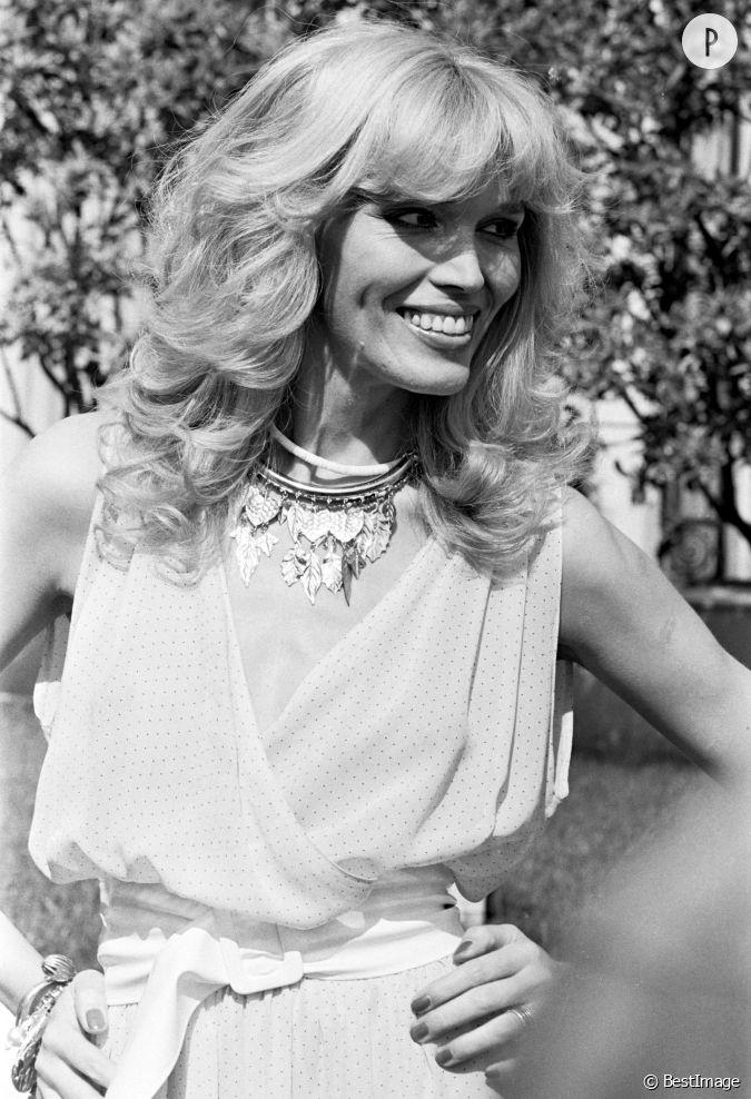Amanda Lear au Festival de Cannes en 1979....