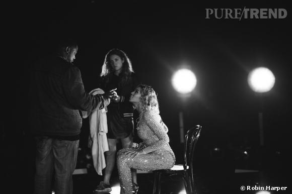 Beyoncé, un shooting sexy qu'elle partage sur son Tumblr.