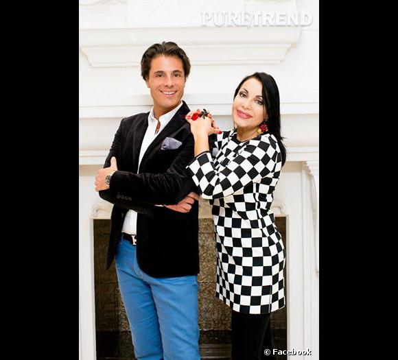 Giuseppe Ristorante avec la mamma Marie-France... On y croit moyennement.