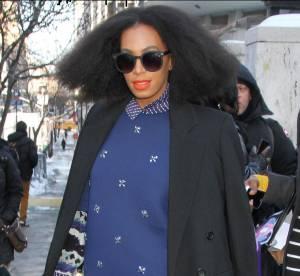 Solange Knowles : la fashion week descend dans la rue... Un look à copier !