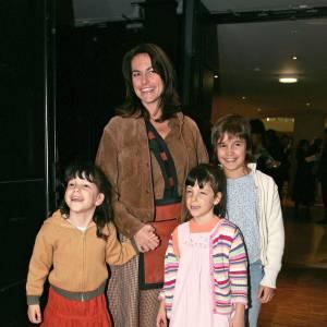 Lio et trois de ses six enfants en 2004.