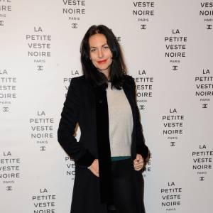 Lio à la présentation de l'expo La petite veste noire en 2012.