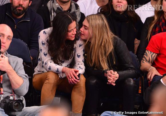 """Entre Michelle Rodriguez et Cara Delevingne : """"tout ce passe vraiment bien""""."""
