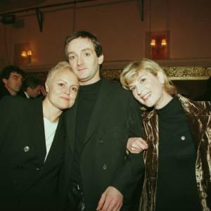 Muriel Robin, Pierre Palmade et Michèle Laroque à la générale de Ils s'aiment en 1996.