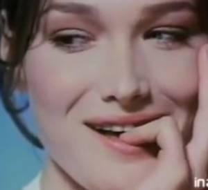 Carla Bruni pour les glaces Gervais (1991).