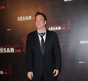 Quentin Tarantino en 2011 pour les César.
