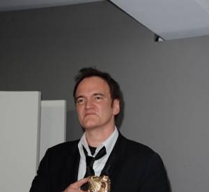Quentin Tarantino reçoit le César d'honneur en 2011.