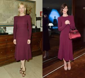 Cate Blanchett Vs Paz Vega : la robe bordeaux Gucci