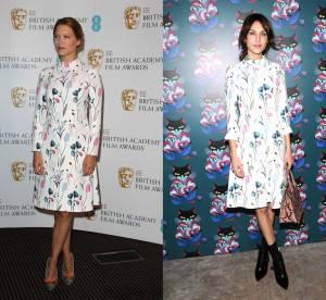 Léa Seydoux vs Alexa Chung : la robe à fleurs Miu Miu
