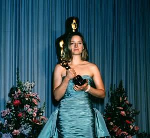 Jodie Foster à l'époque ingrate aux Oscars 1989.