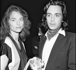 Charlotte Rampling et Jean-Michel Jarre au Festival de Cannes 1979.
