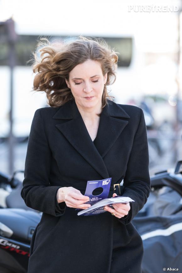 Nathalie Kozciusko-Morizet pour la mairie de Paris : c'est aussi une maman qui bat campagne.