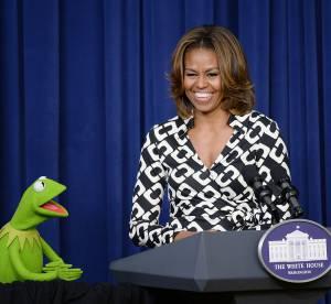 Michelle Obama : son incroyable rencontre avec... Kermit