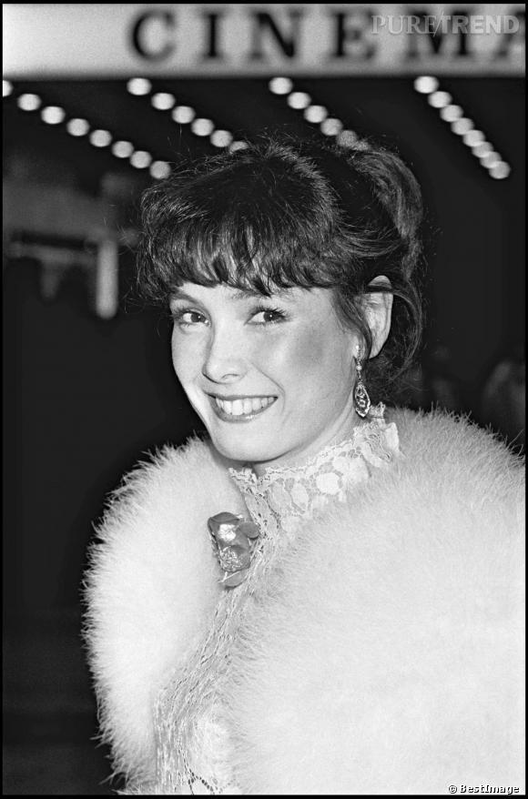 Sabine Azéma lors d'une soirée en 1981.