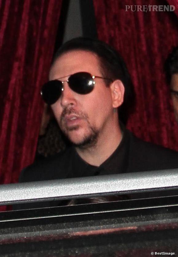 Marilyn Manson est le sosie officiel de Nicolas Cage. La preuve avec cette photo !