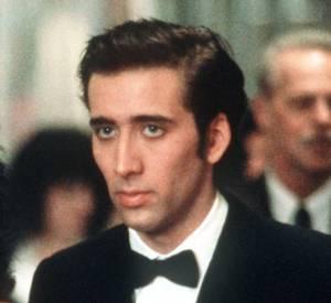 """Nicolas Cage, ici aux côtés de Cher dans """"Eclair de lune"""" en 1987."""