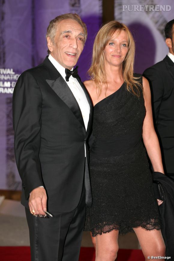 Gérard Darmon et Christine au Festival du film de Marrakech le 2 décembre 2011.