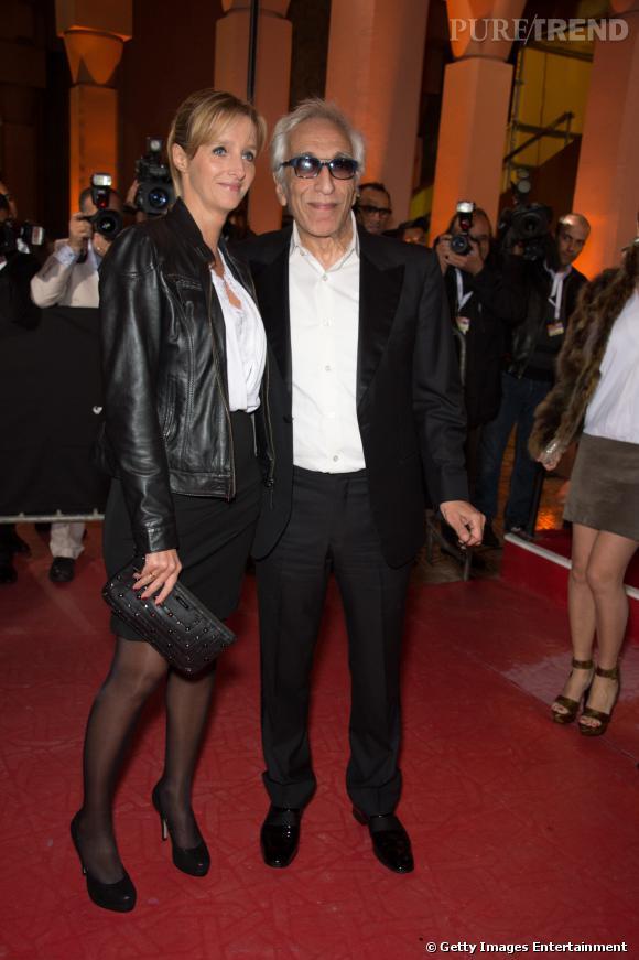 Gérard Darmon et Christine   au Festival du film de Marrakech en novembre 2012.
