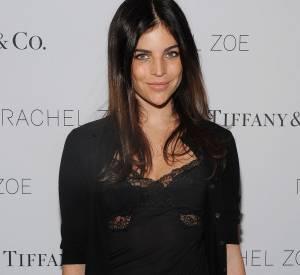 Julia Restoin-Roitfeld opte pour un top en dentelle sexy et tendance pour la soirée Tiffany & Co. le 24 mars 2014.