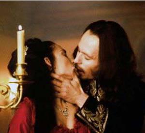 """""""Dracula"""", un film passionné avec Winona Ryder."""