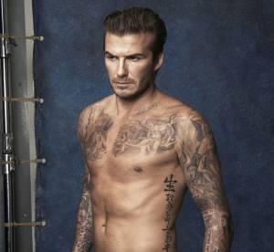 H&M : David Beckham met le paquet dans sa ligne de maillots de bain