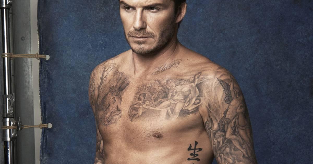 d50fa8b0b5 H&M : David Beckham met le paquet dans sa ligne de maillots de bain -  Puretrend