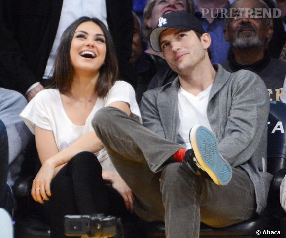 Mila Kunis et Ashton Kutcher filent le parfait amour et se moquent bien de ce qu'on pense d'eux !