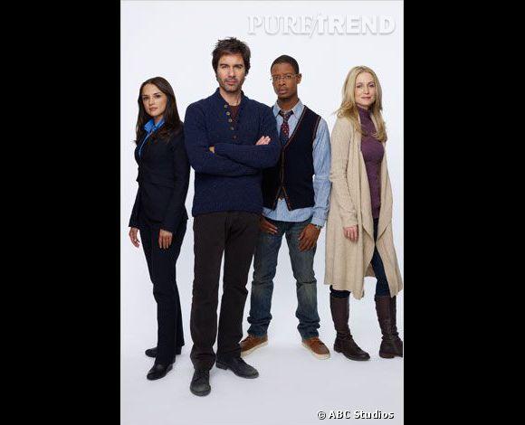 """Rachael Leigh Cook, l'actrice de """"Elle est trop bien"""" revient sur le petit écran après plus de 10 ans d'absence pour la série """"Perception"""". La série policière est diffusée ce soir, 10 avril 2014 sur M6."""