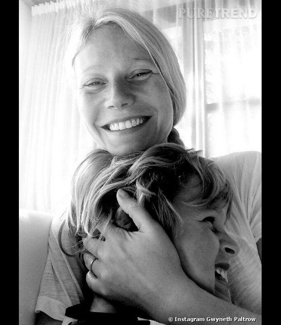 Le fils de Gwyneth Paltrow, Moses, a fêté ses 8 ans ce mardi 8 avril 2014.