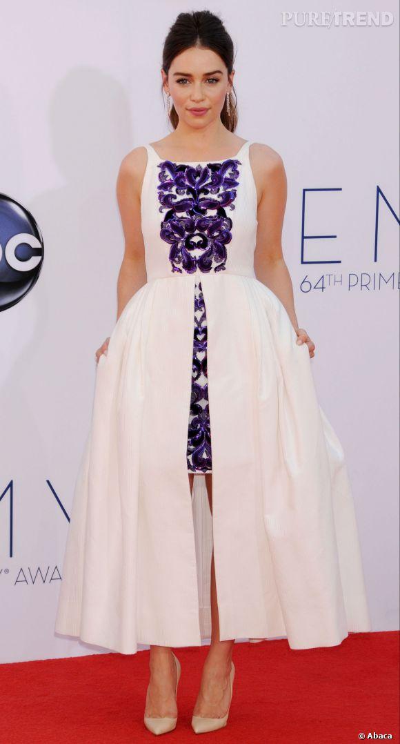 Emilia Clarke, l'actrice la plus sexy du monde se montre très humble en interview.