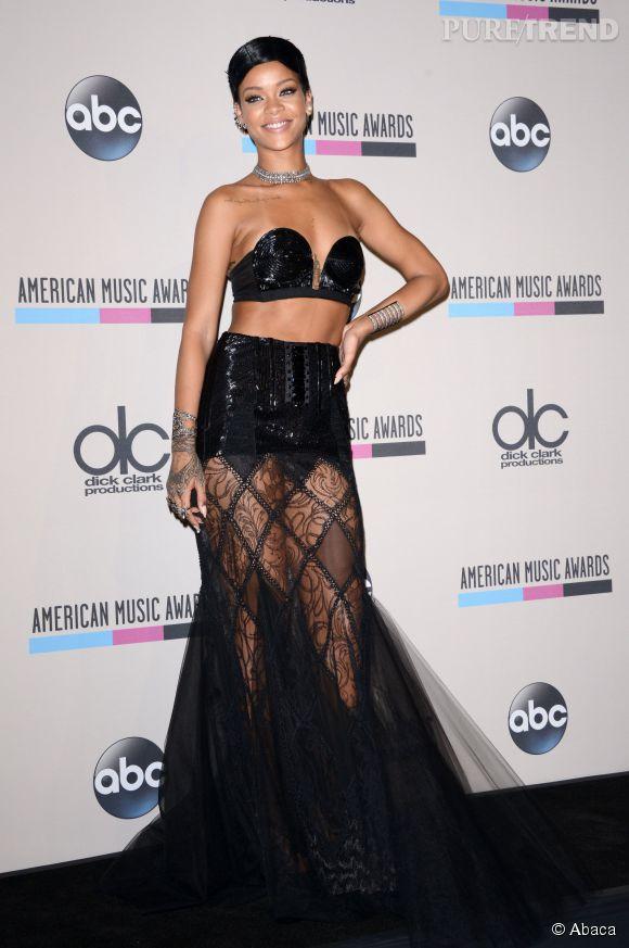 Rihanna ose la tendance lingerie