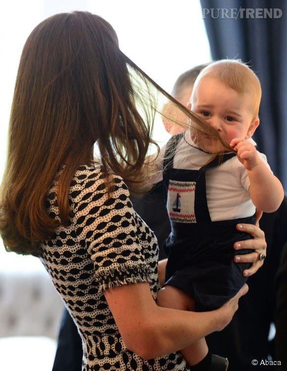 Le petit héritier est aussi un garnement !