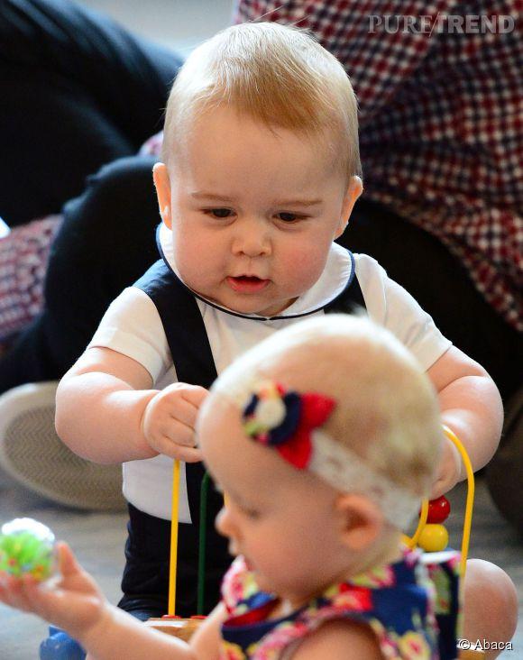 Le Prince George tombe amoureux en Nouvelle-Zélande.