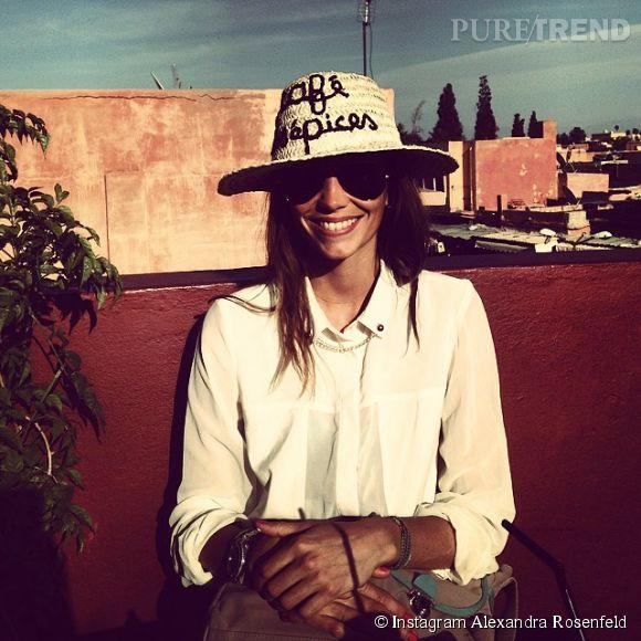 Alexandra Rosenfeld se réoriente dans le monde des affaires et lance son concept store en ligne : Chezalexetchantal.com