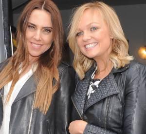 Idem pour Emma Bunton et Melanie C, une aventure comme les Spice Girls ça reste à vie. Ici à Londres le 5 mars 2014.