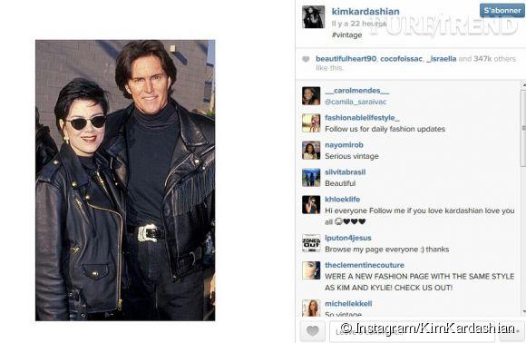 Sans oublier Kim Kardashian qui a également une pensée pour sa mère Kris Jenner et son beau-père Bruce Jenner.