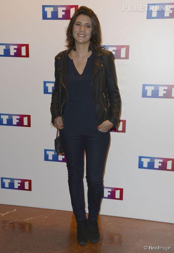 """Estelle Denis remballe pour la saison 2 de """"The Best, le meilleur artiste"""" diffusé tous les vendredi sur TF1."""