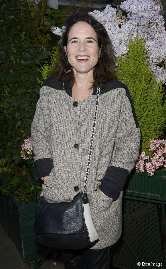 Mazarine Pingeot lors de la remise du Prix de la Closerie des lilas, le 8 avril 2014.