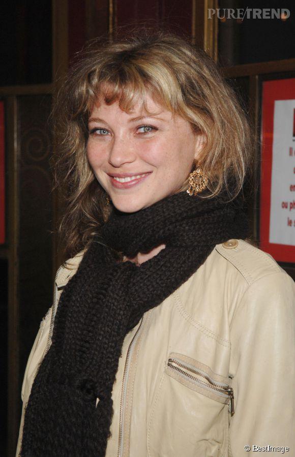 Cécile Bois n'était pas encore très connue à l'époque de ce cliché, en 2008.