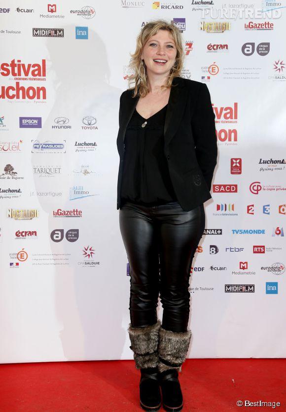 Mais grâce à son rôle dans la série Candice Renoir, Cécile Bois crève l'écran sur France 2 depuis 2013.