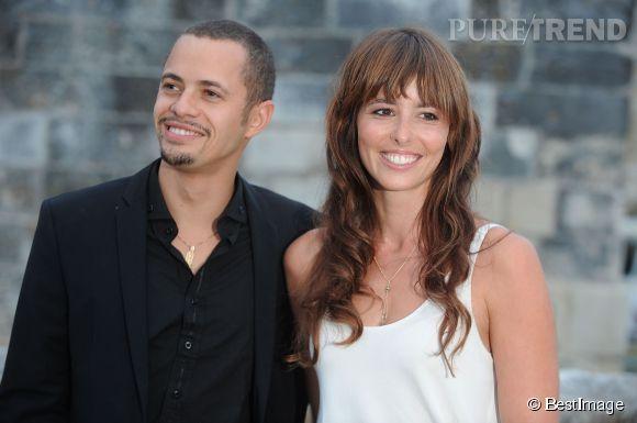 Julie Boulanger et son partenaire dans la série CUT, l'acteur Ambroise Michel, le 13 septembre 2013.