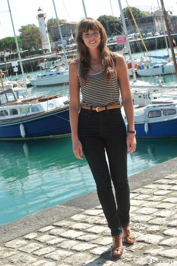 Julie Boulanger à La Rochelle le 13 septembre 2013.