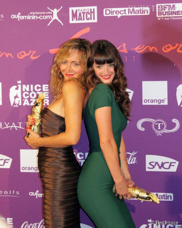 Charlotte Le Bon à la 19eme édition du trophée des femmes en or, en 2011.