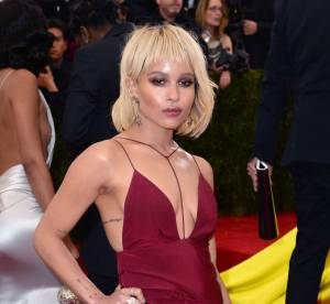 Zoë Kravitz : sous-vêtements en option au MET Ball 2014 ?