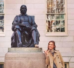 Karlie Kloss : l'Ange de Victoria Secret à l'université de Harvard