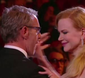 Lambert Wilson et Nicole Kidman s'offrent une danse durant la cérémonie d'ouverture du 67e Festival de Cannes.